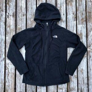 North Face Women's Fleece Zip Up Jacket Hoodie XS